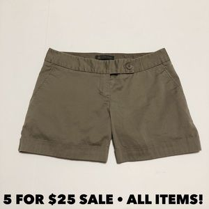The Limited Taupe Khaki Chino Shorts